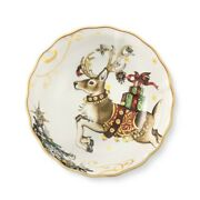 Williams Sonoma Twas The Night Before Christmas Reindeer 8 Soup Bowl