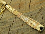 Vintage Nos Unused Watch Band Lenox Butterfly Multi-colored Gold Filled C-ring