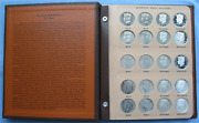 Dansco 8167 Kennedy Half Dollars 2012-2017 P/d/s/s Set W/ Proof Silver And Clad