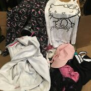 Box Full Of Women's And Children's Clothing Hello Kitty Bebe Plus More M/s/l