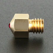 3d Printer Nozzle 0.4mm Mk8 Extruder Head Compatible With Petg Abs Pei