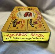 Precious Antique Matchbox Toys Series 40th Anniversary Collection Unused 944/mn
