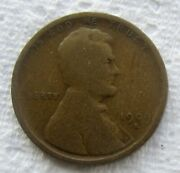 1909-s Lincoln Wheat Cent Rare Key Date Chocolate Brown