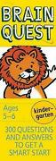 Brain Quest Kindergarten 300 Questions And Answers To Get A Smart Start Chris W