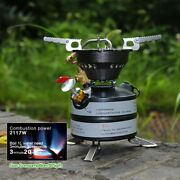 Brs Mini Liquid Fuel Camping Gasoline Stove Portable Outdoor One-piece Burners
