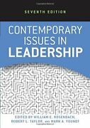 Contemporary Issues In Leadership By Rosenbach, William E., New Book, Free And Fas