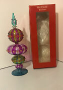 """Waterford Crystal Marquis Carnivale Tree Topper Christmas 13"""" Medium Size"""