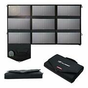 Allpowers Portable Solar Panel 60w Dual 5v Usb With Isolar Technology+18v Dc
