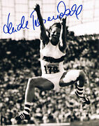 Heide Rosendahl 1947- Genuine Autograph 8x10 Photo Signed In Person Long Jump