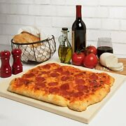 Pizza Stone For Oven Grill Bbq- Rectangular Pizza Baking Stone- Xl X-large