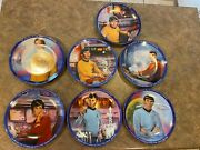 Star Trek Collector Plates Ernst 1983 Used Excellent Condition
