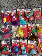 Kong Interactive Lot Of Cat Toys Catnip And Feather Assortment