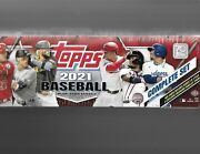 2021 Topps Complete Factory Sealed Hobby Set - Ready To Ship
