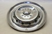 Original 1950 Ford Car Accessory Deluxe Hubcap Wheel Cover 15 Oem Fomoco