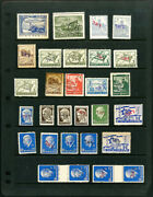 Israel Palestine Forerunner Nd Propaganda Stamp Collection Lot Of 60+