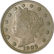 1903 Liberty V Nickel Great Deals From The Executive Coin Company