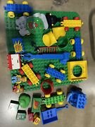 Lego Duplo Large Base Board Green Plate 15 X 15 24 X 24 Pegs Studs And Lot