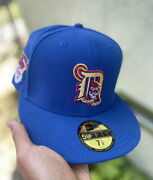 Detroit Tigers Myfitteds Strohs Craft Beer Pack Blue Gold 59fifty 7 1/4 Hat Club