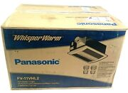 Panasonic Ceiling Exhaust Fan With Light And Heater Fv-11vhl2