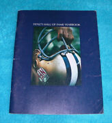 Nfl Hof Football 1970/1971 Hall Of Fame Yearbookcalvin Hillbob Lillyc. Howley