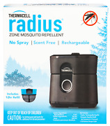 Thermacell Lz1w Radius Zone Rechargeable Repeller Black