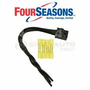 Four Seasons Ac Condenser Fan Control Relay Harness Conn For 1992-1995 Wr