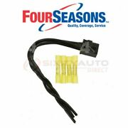 Four Seasons Ac Condenser Fan Control Relay Harness Conn For 1989-1997 Geo Ud