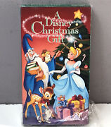 A Disney Christmas Gift Vhs Video Tape 1996 Nearly New Rare Vtg Fast Shipping