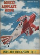 Model Airplane News Mag Model This Pitts Special August 1950 072021nonr
