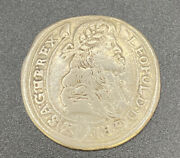 Hungary 1683 1/4 Thaler Leopold Silver World Coin