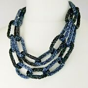 French Connection Costume Jewellery Big Link Statement Necklace