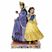 Jim Shore Disney Traditions Evil And Innocence Snow White And Evil Queen 6008067 New