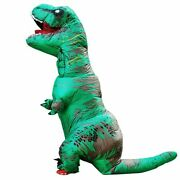 Inflatable Costumes Dinosaur Blow Up Halloween Cosplay Dress Up Role Play Party