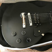 Gibson Les Paul Studio And03960s Stain Ebony Black Made In Usa Electric Guitar Used