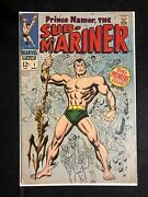 Sub-mariner 1 First Solo Issue Vintage Key Book 5.0