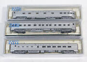Used Kato N Scale Santa Fe Passenger Cars Regal Court, Vista Valley, And 601...