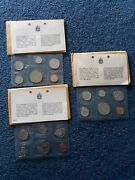 Canada 19691970 And 1971 Proof Like Sets