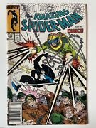 Very Rare - Amazing Spider-man With Chance 299 Comic Book April 1987