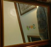 Antique Mirrow With Heavy Ornate Frame Approx. Size 24''x30''