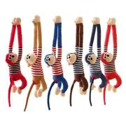 Hanging Plush Monkey Stuffed Animal Gifts For Kids With Specially Designed