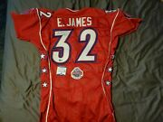Game Issued Indianapolis Colts Edgerrin James Jersey Signed Autographed Beckett