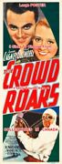 Crowd Roars 1932 Cagney Race Car Driver = Movie Poster 3sizes 6ft / 9ft / 10.5ft
