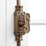 Signature Hardware 942089 Bromley Solid Brass Cremone Bolt For 9' - Brass