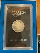 1884 Silver Dollar Carson City In Original Box W Papers Excellent +++ Condition