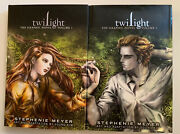 Twilight The Graphic Novel, Vol. 1 And 2, Hardcover, First Edition Books New