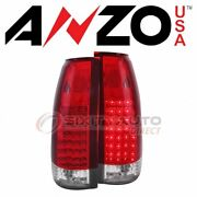 Anzousa Tail Light Set For 1988-1998 Gmc C1500 - Electrical Lighting Body Xl