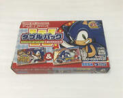 Game Boy Advance Software Sonic Pinball Party And Sonic Battle Double Pack 848/mn