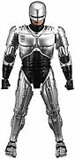 Secondhand Movie Masterpiece Diecast Robocop 1/6 Scale Die-cast Painted Movable