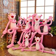 New Pink Panther Plush Toy Stuffed Animal Doll Kids Soft Toy Birthday Party Gift