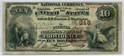 Fr. 480 1882 Bb 10 Ch 948 National Bank Note Providence Rhode Island Fine